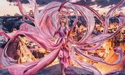 Mỹ nữ lộng lẫy váy áo tô điểm các cảnh đẹp trên thế giới
