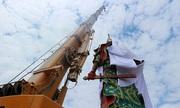 Tượng Quan Vũ cao 30 m gây tranh cãi ở Indonesia