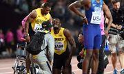 Usain Bolt phải bỏ giữa chừng phần thi 4x100m