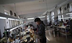 Hàng may mặc 'made in China' ở Triều Tiên