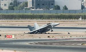 Tiêm kích Mỹ gặp nạn, sân bay quốc tế Bahrain ngừng hoạt động