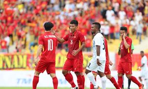 Việt Nam 4-0 Timor Leste
