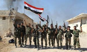 Lính Syria lần đầu nhảy dù tấn công hậu phương IS