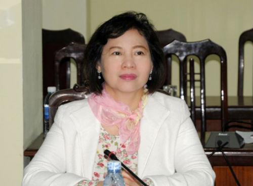 Thứ trưởng Công Thương Hồ Thị Kim Thoa bị miễn nhiệm