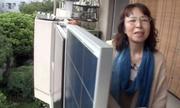 Tự sản xuất năng lượng, người phụ nữ Nhật không tốn tiền điện