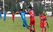Lào 0-2 Singapore