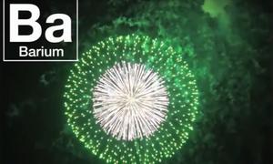 Màu sắc pháo hoa được tạo ra từ đâu?