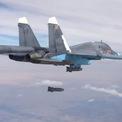 Đoàn xe IS nổ tung dưới đòn không kích của Nga