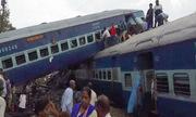 Tàu hỏa trật bánh ở Ấn Độ, 10 người thiệt mạng