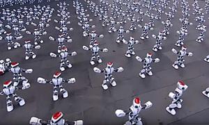 Hơn 1.000 robot nhảy múa phá kỷ lục thế giới