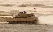 Tăng M1 Abrams trụ vững trước tên lửa IS bắn trực diện