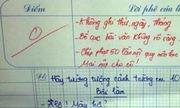 Những bài kiểm tra vượt quá sức tưởng tượng của giáo viên
