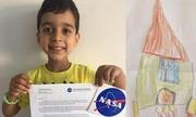 Gửi thiết kế tên lửa cho NASA, cậu bé Anh 4 tuổi được phản hồi