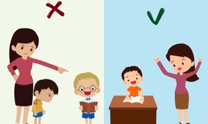 Những điều nên và không nên làm khi cha mẹ dạy con