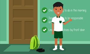 Cách đơn giản giúp con không bao giờ đi học muộn