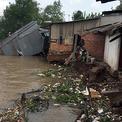 Nhiều người rơi xuống sông Hậu vì sạt lở