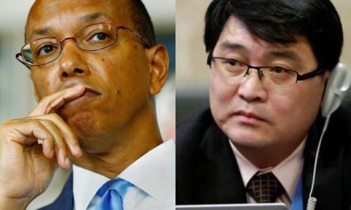 Phái viên Mỹ và Triều Tiên.