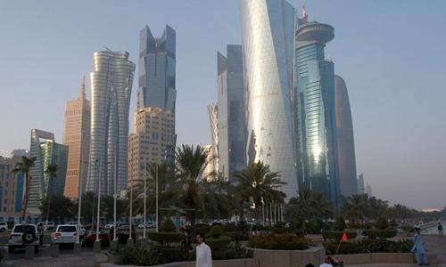 Thủ đô Doha, Qatar. Ảnh: Reuters.