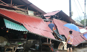 Hơn 700 nhà bị tốc mái do giông lốc ở Lào Cai