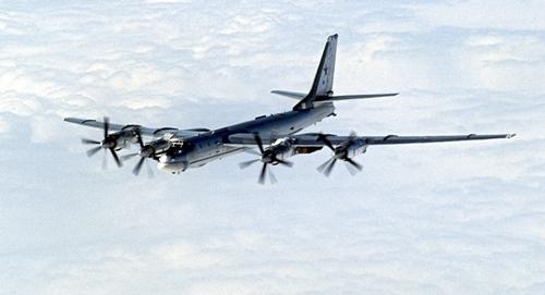 Máy bay ném bom Tu-95MS của Nga. Ảnh: Sputnik.