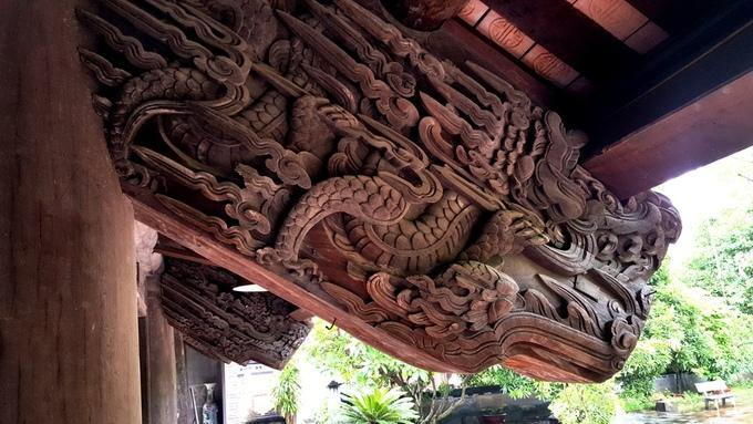 Ngôi đình chạm khắc gần 400 con rồng ở Hải Phòng