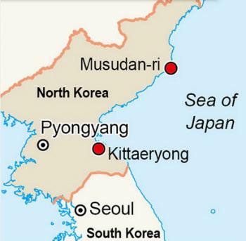 Triều Tiên phóng một loạt tên lửa ra biển