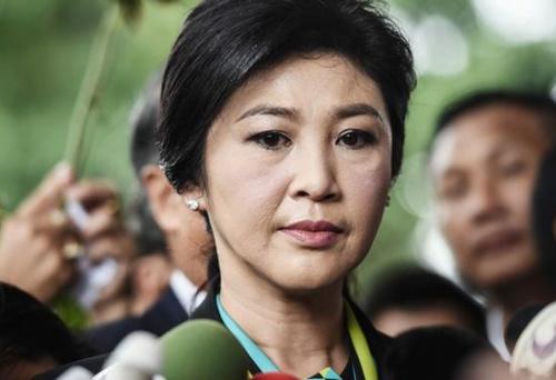 Bà Yingluck, nữ thủ tướng đầu tiên của Thái Lan. Ảnh: AFP.