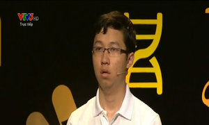 Phan Đăng Nhật Minh giành điểm phần Vượt chướng ngại vật