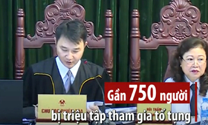 Những con số trong vụ đại án OceanBank Hà Văn Thắm