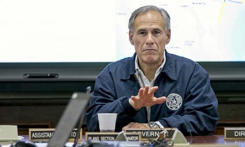 Thống đốc bang Texas Greg Abbott. Ảnh: Washington Examiner.