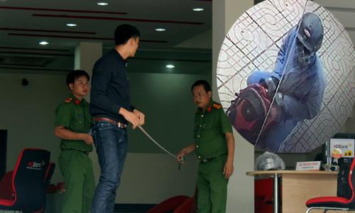 Kẻ cướp ngân hàng ở Đồng Nai gây án như thế nào