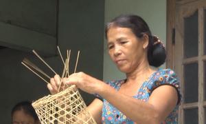 Làng nghề đan lờ 200 tuổi ở Quảng Nam