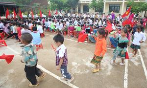 Bức tranh giáo dục nhìn từ lễ khai giảng