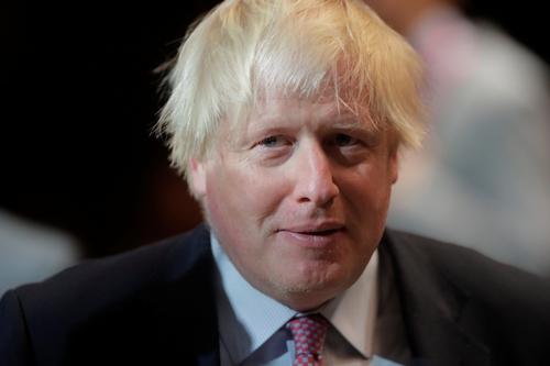 Ngoại trưởng Anh Boris Johnson. Ảnh: Reuters.