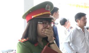 Đồng đội tiếc thương thượng úy cảnh sát chữa cháy hy sinh