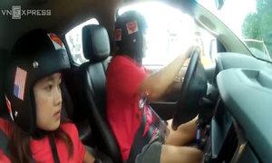 Bóng hồng Việt tại giải đua xe địa hình 2017
