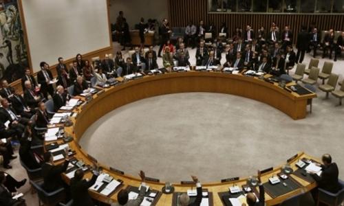 Một phiên biểu quyết tại Hội đồng Bảo an Liên Hợp Quốc. Ảnh: Reuters.