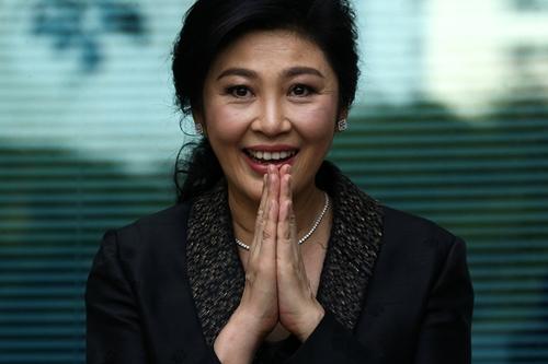 Cựu thủ tướng Thái Lan Yingluck Shinawatra. Ảnh: Reuters.