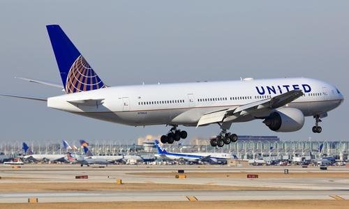 Một phi cơ của United Airlines. Ảnh: Snopes.
