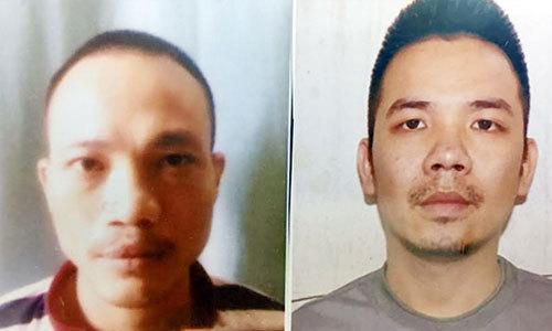 Hai tử tù bỏ trốn khi đang bị cùm chân