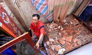 Nhiều người Quảng Bình ăn nhờ ở đậu vì mất nhà