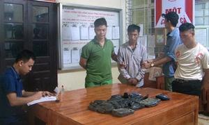 Công an Lào Cai liên tiếp bắt giữ 55 bánh heroin