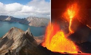 Núi lửa Triều Tiên có thể thức giấc sau các vụ thử hạt nhân