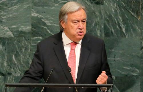 Tổng thư ký Liên Hợp Quốc Antonio