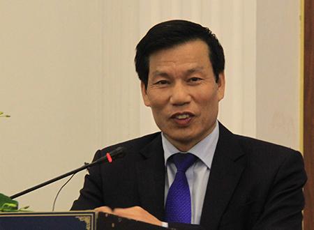 Bộ trưởng Nguyễn Ngọc Thiện. Ảnh: Đ.Loan.