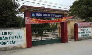 Hai nam sinh tử vong trong hố nước cạnh nhà trường
