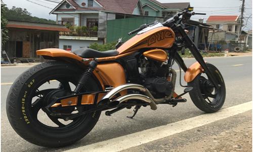 Honda 67 biến thành Harley-Davidson của dân chơi Đà Lạt