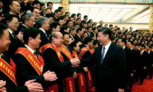 Chủ tịch Trung Quốc Tập Cận Bình gặp các quan chức an ninh ở thủ đô ngày 19/9. Ảnh: Xinhua.
