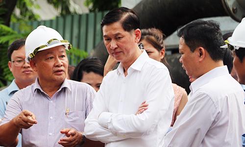 TP HCM chỉ thuê máy bơm 'khủng' chống ngập đường Nguyễn Hữu Cảnh