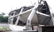 Trường mầm non đang thi công ở Hà Nội đổ sập trong đêm